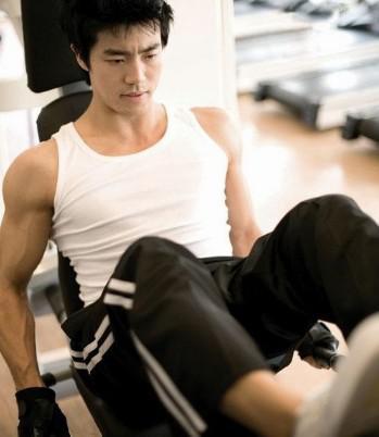 男士健身房健身一周计划大全